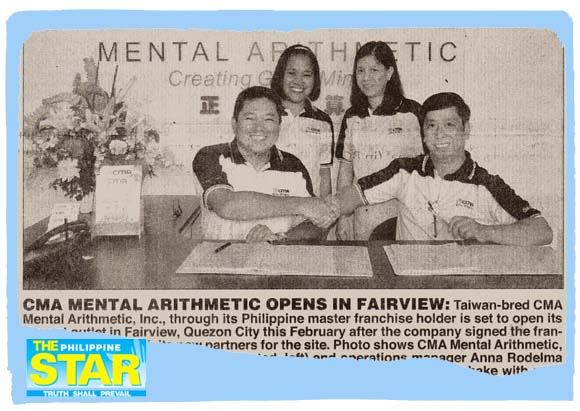 CMA Mental Arithmetic opens in Fairview